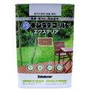 【カンペハピオ】木材保護塗料 水性XDエクステリアS【3.4L チーク】