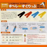 【西日本電線】滑り止めグリップすべら〜ずグリップ溝付【40X200mm黒】