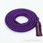 神輿飾り紐台輪寸法1尺3寸用紫色紐丈5m60cmX太さ2,2cm
