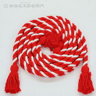 神輿飾り紐(小)アクリル製紅白長さ5,5mX太さ2,4cm