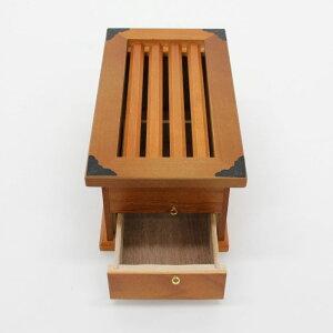 賽銭箱鍵付幅24cmX奥行13,5cmX高さ11cm