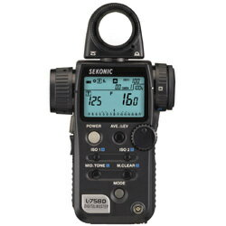 セコニック L-758D デジタルマスター世界初、露出プロファイル機能搭載デジタルカメラへ対応し...