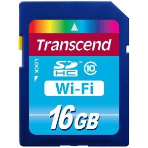 【送料無料】トランセンド TS16GWSDHC10 Wi-Fi SDカード 16GB 【メール便不可】