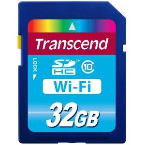 【送料無料】トランセンド TS32GWSDHC10 Wi-Fi SDカード 32GB 【メール便不可】