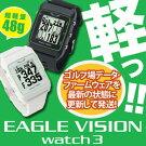 EAGLEVISIONWATCH3(イーグルビジョンウォッチ3)腕時計タイプゴルフナビEV-616