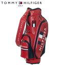トミー ヒルフィガー ゴルフ キャディバッグ フラッグ THMG0SC6 9型 約3.8kg TOMMY HILFIGER GOLF