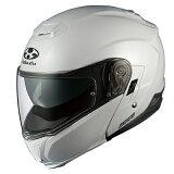 【OGK・オージーケー】IBUKI いぶき システムヘルメット パールホワイト【送料無料!】(※一部地域を除く)