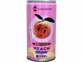 【南海果工】ナンカイももドリンク20%190g/30缶【2ケース以上で送料無料】【組合せ自由】【熨斗(のし)対応(無料)】【お中元・お歳暮・お供え・贈り物に】【和歌山県産の桃を使用】