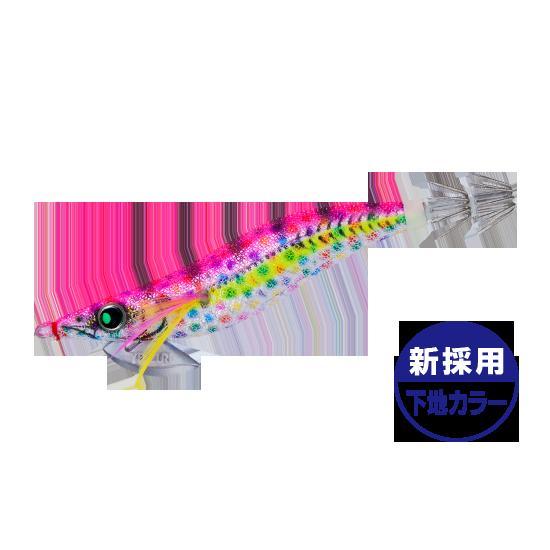 DUELYO-ZURIアオリーQエースラトルDMPドットマーブルピンク3.5号【ラッキーシール対応】