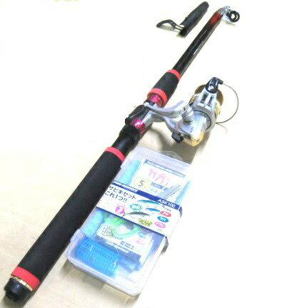 釣り竿 サビキ サビキセット 釣りセットプロマリン わくわくサビキ釣りセットDX 300cm