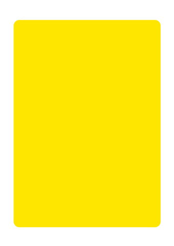 6515 マジカルポップ 黄無地 素材:マジカルフィルム Mサイズ:W205mm×H293mm