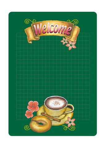 6542 マジカルポップ Welcome 素材:マジカルフィルム Mサイズ:W205mm×H293mm