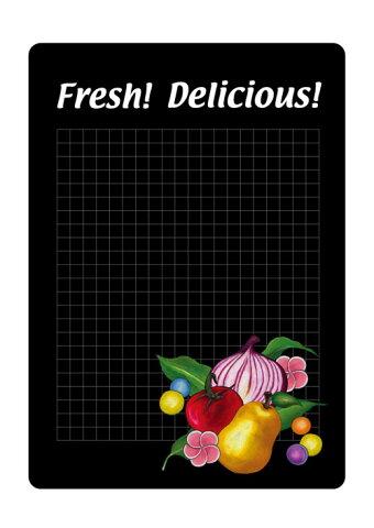 6548 マジカルポップ Fresh! Delicious! 素材:マジカルフィルム Mサイズ:W205mm×H293mm