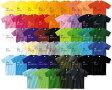 カラー半袖無地Tシャツ 選べるカラー50色 サイズ:S・M・L・XL ※商品出荷まで5日以上かかります 名入れ可能商品