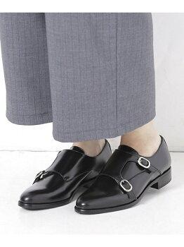 BELLINI LB/モンクストラップドレスシューズ ナノユニバース【送料無料】