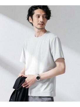 [Rakuten Fashion]【SALE/35%OFF】[喜もちいいT] レギュラーシルエット nano・universe ナノユニバース カットソー Tシャツ ピンク ブルー グレー ホワイト【RBA_E】
