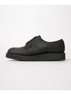nano universe Oiled Leather Postman 6708233013: Black