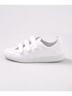 German Military Trainer Velcro 6708234129: White