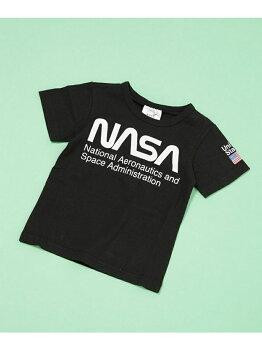 [Rakuten BRAND AVENUE]ロゴTシャツ NASA ナノユニバース カットソー【送料無料】