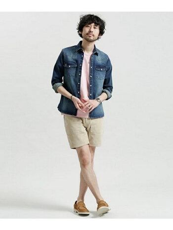 [Rakuten BRAND AVENUE]【SALE/30%OFF】ポケット付きBig Tシャツ nano・universe ナノユニバース カットソー【RBA_S】【RBA_E】