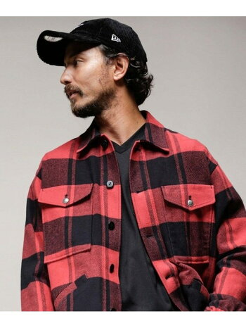 [Rakuten Fashion]別注ツイルCPOジャケット PENDLETON ナノユニバース コート/ジャケット ブルゾン ブラック【送料無料】