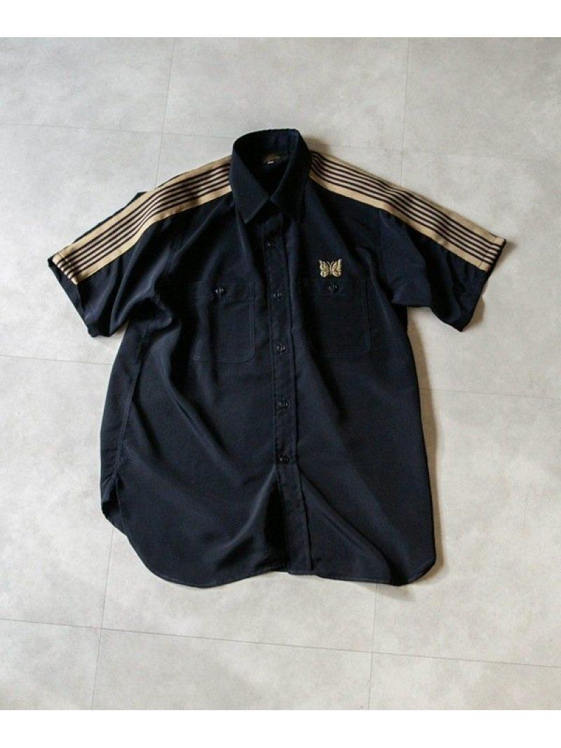 トップス, カジュアルシャツ SALE10OFF SS Work Shirt Poly Cloth Needles RBAERakuten Fashion