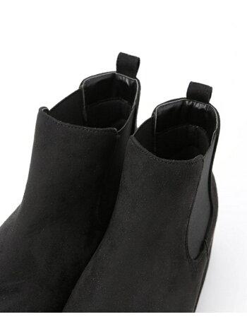 [Rakuten Fashion]【SALE/60%OFF】Fスエードサイドゴアブーツ nano・universe ナノユニバース シューズ シューズその他 ブラック ネイビー グレー【RBA_E】