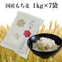 国産 もち麦 1kg 国内産 雑穀米に もちむぎで脱メタボ 食物繊維 食品 もちもちの麦「もち麦」モ...