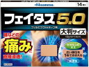 ★【第2類医薬品】フェイタス5.0大判サイズ14枚《セルフメディケーシ...