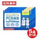 [宅配便]にしたんクリニック【PCR検査 5点セット】 日本
