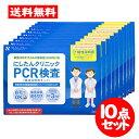 [宅配便]にしたんクリニック【PCR検査 10点セット】 日