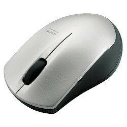 エレコム IRマウス/M-BT12BRシリーズ/Bluetooth3.0/3ボタン/省電力/シルバー(M-BT12BRSV) メーカー在庫品