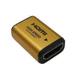 Ho裏克HDMI轉播適配器黄金HDMI A手術刀-HDMI A手術刀HDMIF-027GD廠商庫存[10P03Dec16]