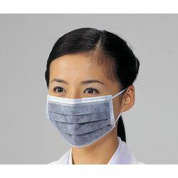 アズワン 活性炭マスク 50枚入 丸ゴムタイプ(4580110243277) 目安在庫=○