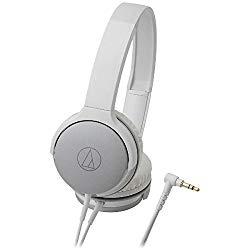 オーディオテクニカ ポータブルヘッドホン シルバーホワイト(ATH-AR1WH) メーカー在庫品