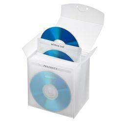 支持有SANWA SUPPLY收藏盒子的藍光磁盤的無紡布情况(25張裝、清除)(FCD-FBDBX25CL)廠商庫存
