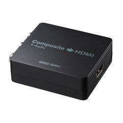 サンワサプライ コンポジット信号HDMI変換コンバータ VGA-CVHD4 メーカー在庫品