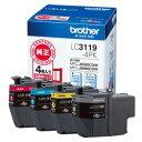 ブラザー インクカートリッジ 4色パック大容量 LC3119-4PK 目安在庫=○