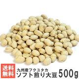 国産ソフト煎り大豆500g 送料無料おためしメール便 南風堂 九州産大豆をカリッとロースト 大豆の栄養そのままおやつ