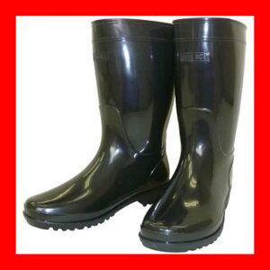 熱田資材ブーツ軽半長靴WB-80226.0ブラック