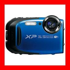 富士フィルムFinePixXP80ブルーFX-XP80BL