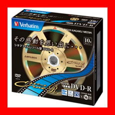 三菱化学 録画用DVD-R 10枚 VHR12JC10V1