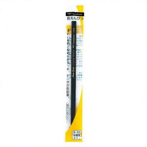 【トンボ鉛筆】色鉛筆1500黒5本組