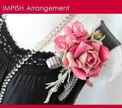 コサージュ 花 バラ AC-190 シルクフラワー 造花 髪飾り 結婚式 入学式 卒業式 入園…