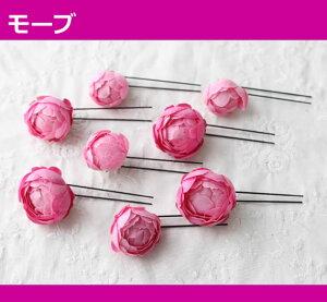 髪飾りヘアアクセサリー花HAC-41