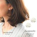 レディース ピアス ノンホールピアス シルバー ゴールド Silver 925 イヤリング 痛くない 華奢 シンプル ママ友 プレゼント naotjewelry Twist Silver Pierce/Earrings