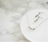 ピアスノンホールピアスイヤリングレディースネックレスゴールドシルバー浴衣ギフトプレゼントシンプル誕生日:MetalLinePierce&Necklace