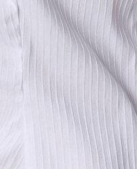 【ナラカミーチェ】スーパーストレッチスーパーストレッチ衿ツキフリル長袖シャツエレガントビジネスオフィスOL上品デイリー華やかストレッチ