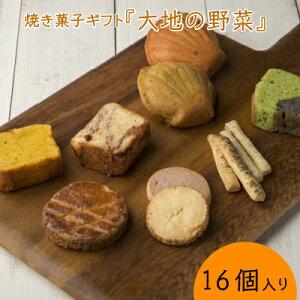 【やさい菓子工房ココアイ「大地の野菜」焼き菓子ギフト16個入り】