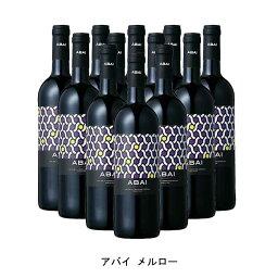 [12本まとめ買い] アバイ メルロー 2018年 アバイ スペイン 赤ワイン ミディアムボディ スペインワイン カスティーリャ・ラ・マンチャ スペイン赤ワイン メルロー 750ml